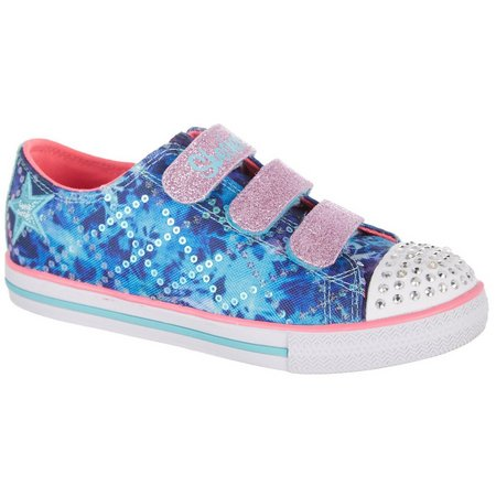 Skechers Girls Twinkle Toes Chit Chat Dazzle Shoes