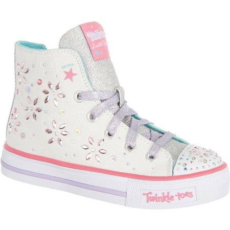 Skechers Girls TT Shuffles High Top Shoes