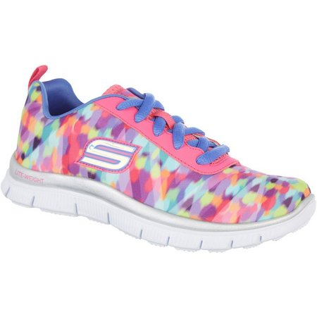 Skechers Girls Skech Appeal Rainbow Athletic Shoes