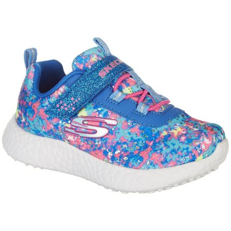 Skechers Toddler Girls Burst Illumina Shoes
