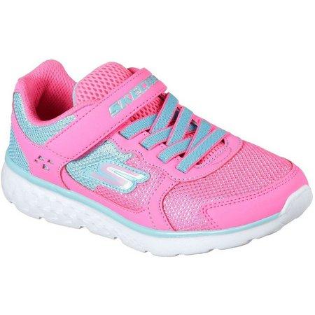 Skechers Girls GOrun 400 Sparkle Sprinters Athletic Shoes