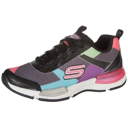 Skechers Girls Jumppatch Athletic Shoes