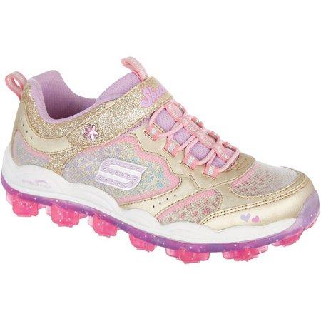 Skechers Girls Skech Air Star Dust Athletic Shoes