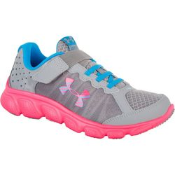 Under Armour Girls Assert 6 PS Athletic Shoes