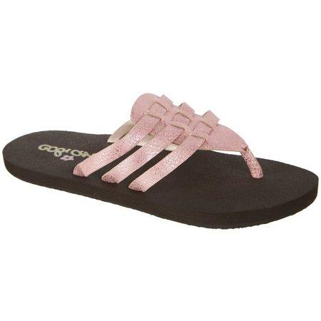 Cobian Girls Lil La Paz Flip Flops
