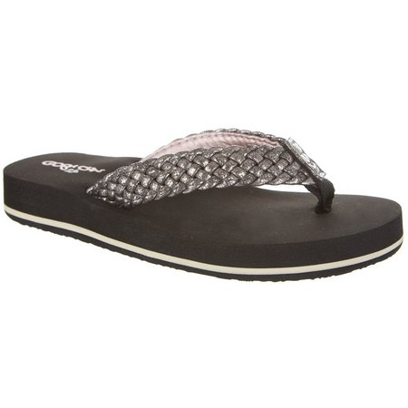 Cobian Girls Lil Braided Bounce Flip Flops