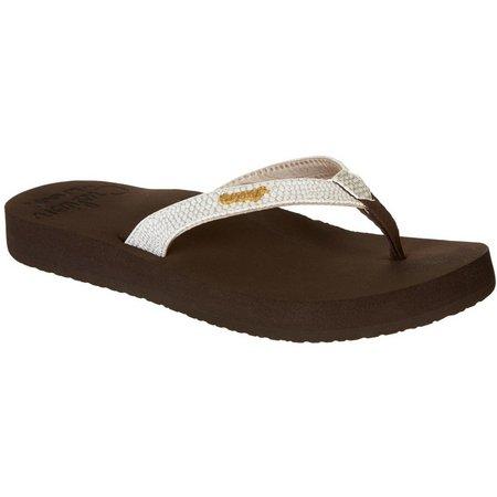 REEF Womens Star Cushion Sassy Flip Flops