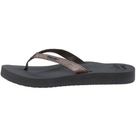 REEF Womens Star Cushion Flip Flops