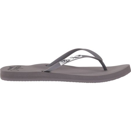 REEF Womens Cushion Glam Flip Flops