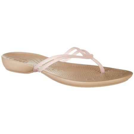 Crocs Womens Isabella Flip Flops