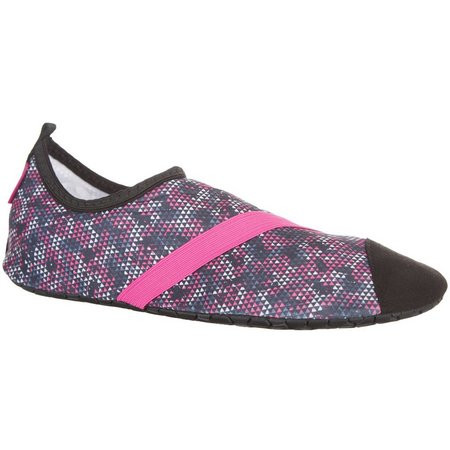 FitKicks Womens Primal Print Shoes