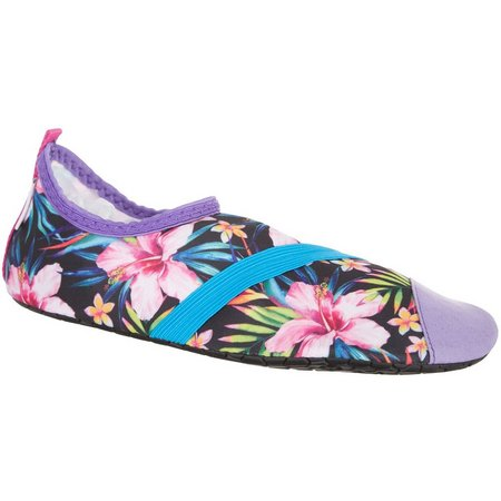 FitKicks Womens Lush Life Print Shoes