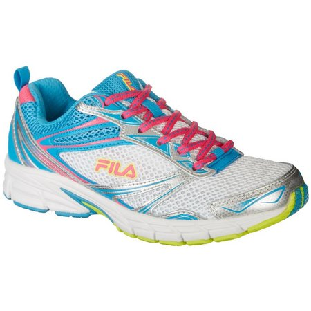 Fila Womens Memory Royalty Multi Color Athletic Shoes