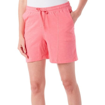 Caribbean Joe Womens Side Pocket Shorts