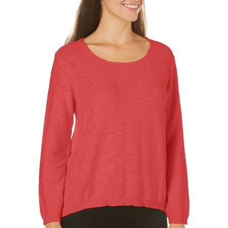 Caribbean Joe Womens Space Dyed Sweater