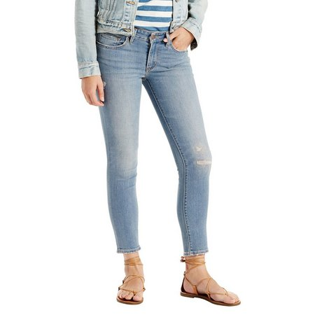 Levi's Womens 711 Skinny Ankle Jeans