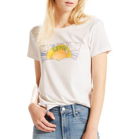 Levi's Womens Perfect Sun Graphic T-Shirt