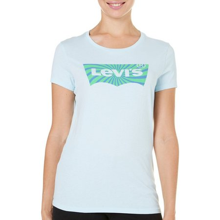 Levi's Womens Slim Logo Graphic T-Shirt