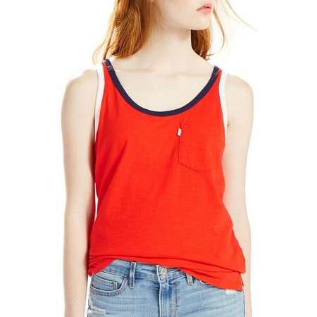 Levi's Womens Solid Perfect Tank Top