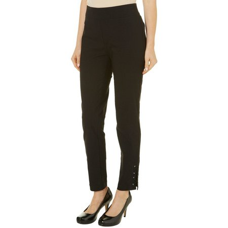 Nue Options Womens Pull On Lace Up Hem