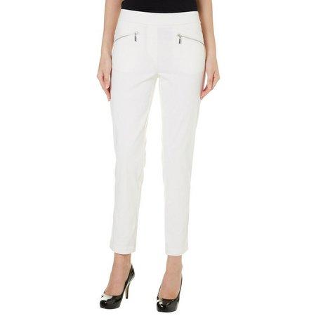 Nue Options Womens Nagano Zip Slim Pants