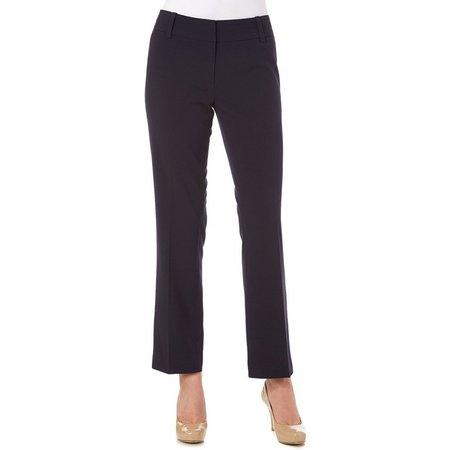 Nue Options Womens Modern Slim Fit Ankle Pants