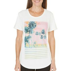 SunBay Womens Palm View Shobie T-Shirt