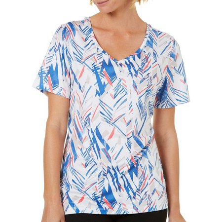 Coral Bay Energy Womens Palm Pieces Top