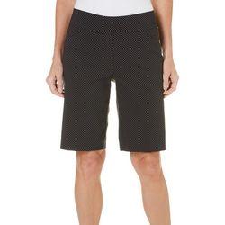 Coral Bay Womens St Augustine Dot Print Shorts