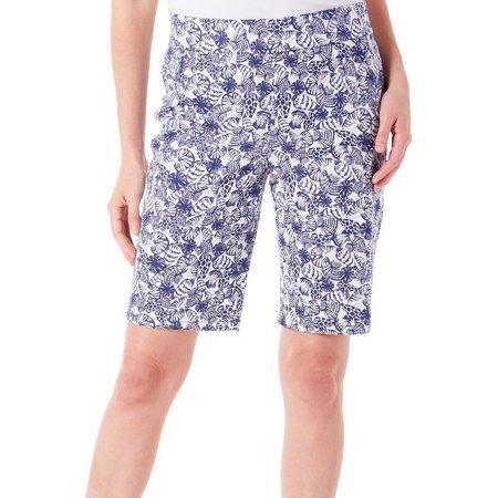 Coral Bay Womens Natural Coast Shell Shorts