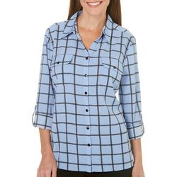Coral Bay Womens Yacht Club Woven Pocket Top