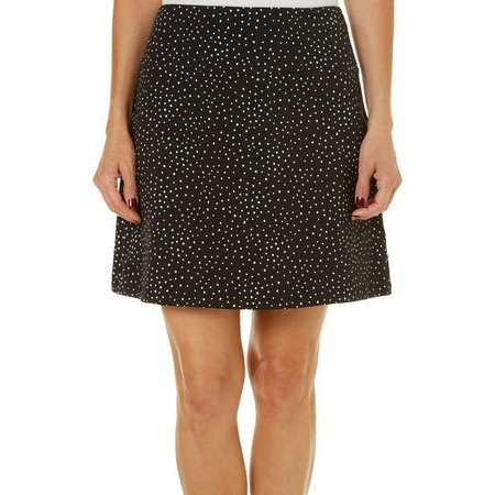 Coral Bay Womens Dot Print Skort