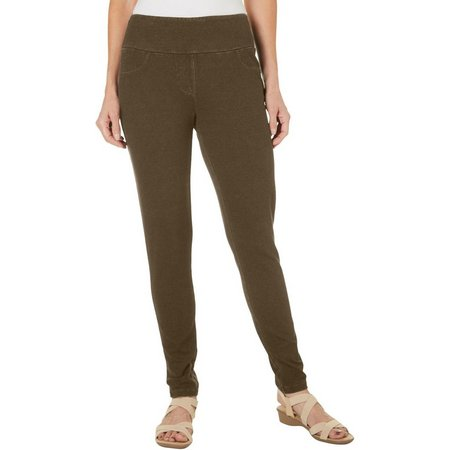 Coral Bay Womens Stretch Jeggings