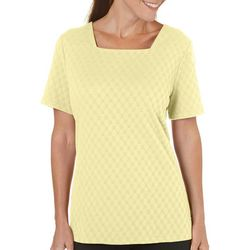 Coral Bay Womens Yacht Club Solid Textured Top