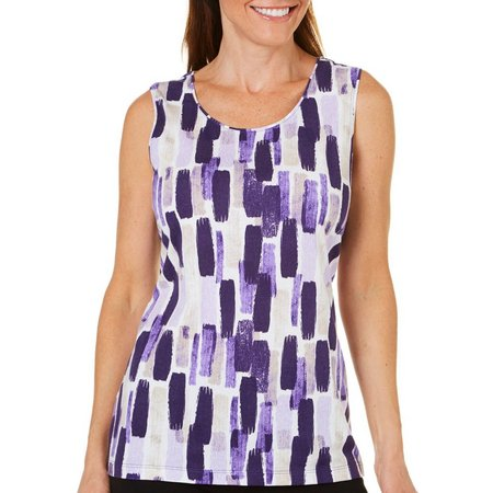 Coral Bay Womens Vertical Rectangle Tank Top