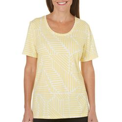 Coral Bay Womens Yacht Club Spliced Lines Top