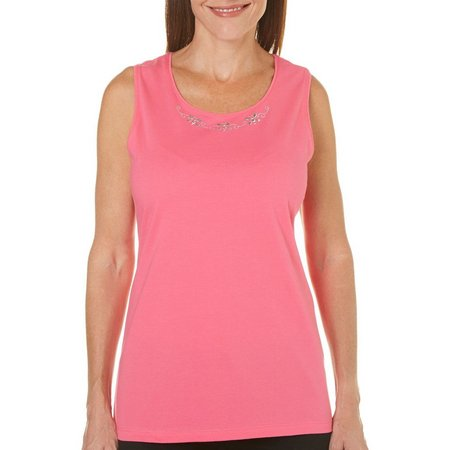 Coral Bay Womens St Augustine Butterfly Tank Top