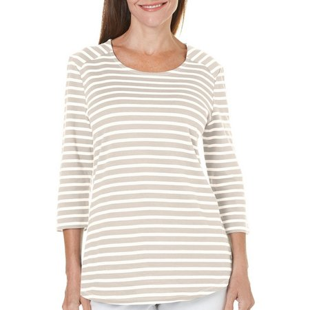 Coral Bay Womens Striped Top
