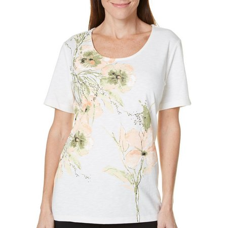 Coral Bay Womens Havana Floral Top