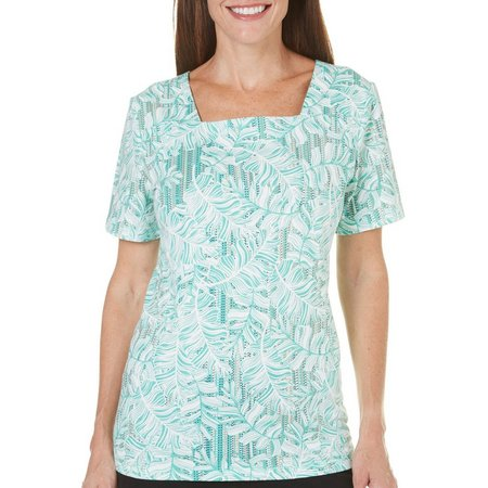 Coral Bay Womens St Augustine Leaf Top