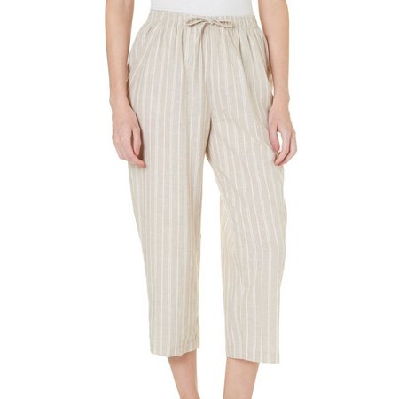 Coral Bay Womens St Augustine Striped Capris