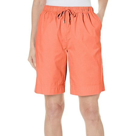Coral Bay Womens Havana Drawstring Shorts