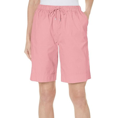 Coral Bay Womens Ocean Drive Drawstring Shorts
