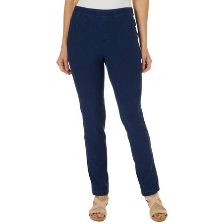 Erika Womens Pull On Jeans
