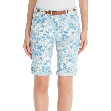 Gloria Vanderbilt Womens Joslyn Bud Bermuda Shorts