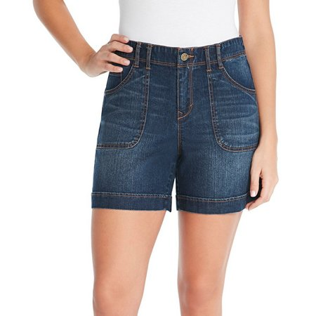 Gloria Vanderbilt Womens Keegan Denim Shorts
