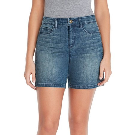 Gloria Vanderbilt Womens Denim Marisa Shorts