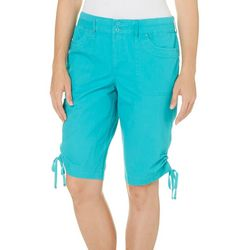 Gloria Vanderbilt Womens Sue Bermuda Shorts