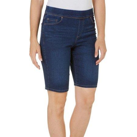 Gloria Vanderbilt Womens Denim Avery Shorts