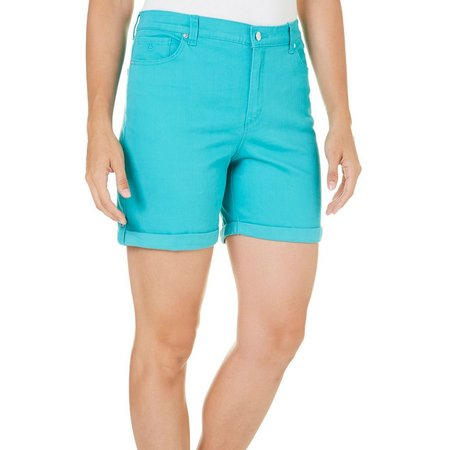 Gloria Vanderbilt Womens Amanda Cuffed Shorts